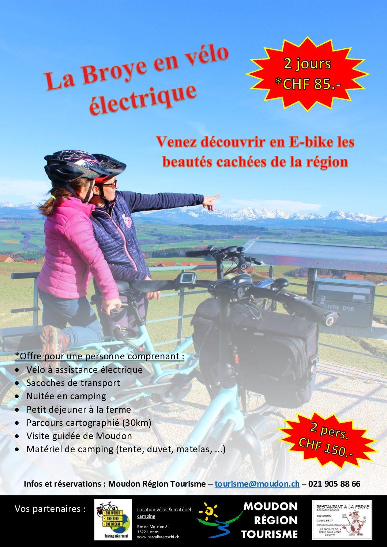La Broye en vélo électrique